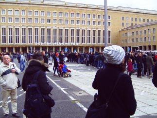 Da staunen die Berliner nicht schlecht.